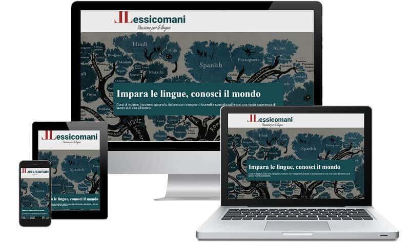 Lessicomani - Sito internet responsive - Sito web professionale Realizzato da Idra Web di Verona