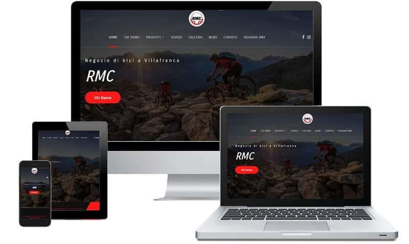 RMC - Sito internet responsive - Sito web professionale Realizzato da Idra Web di Verona
