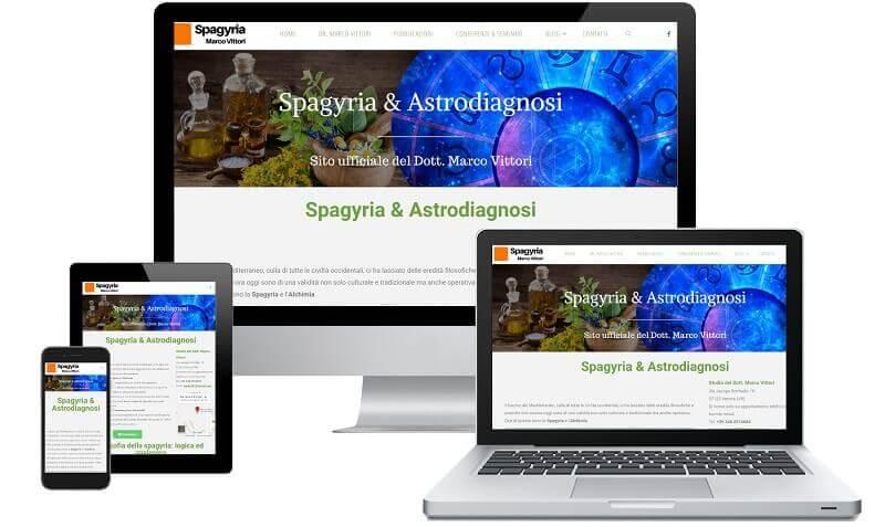 Spagyria - Sito internet responsive - Sito web professionale Realizzato da Idra Web di Verona