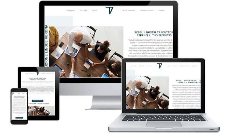 Sito web TLV - Sito internet responsive e SEO. Realizzato da Idra Web di Verona