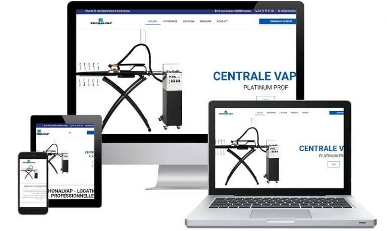 Sito web Rhonalvap - Sito internet responsive e SEO. Realizzato da Idra Web di Verona